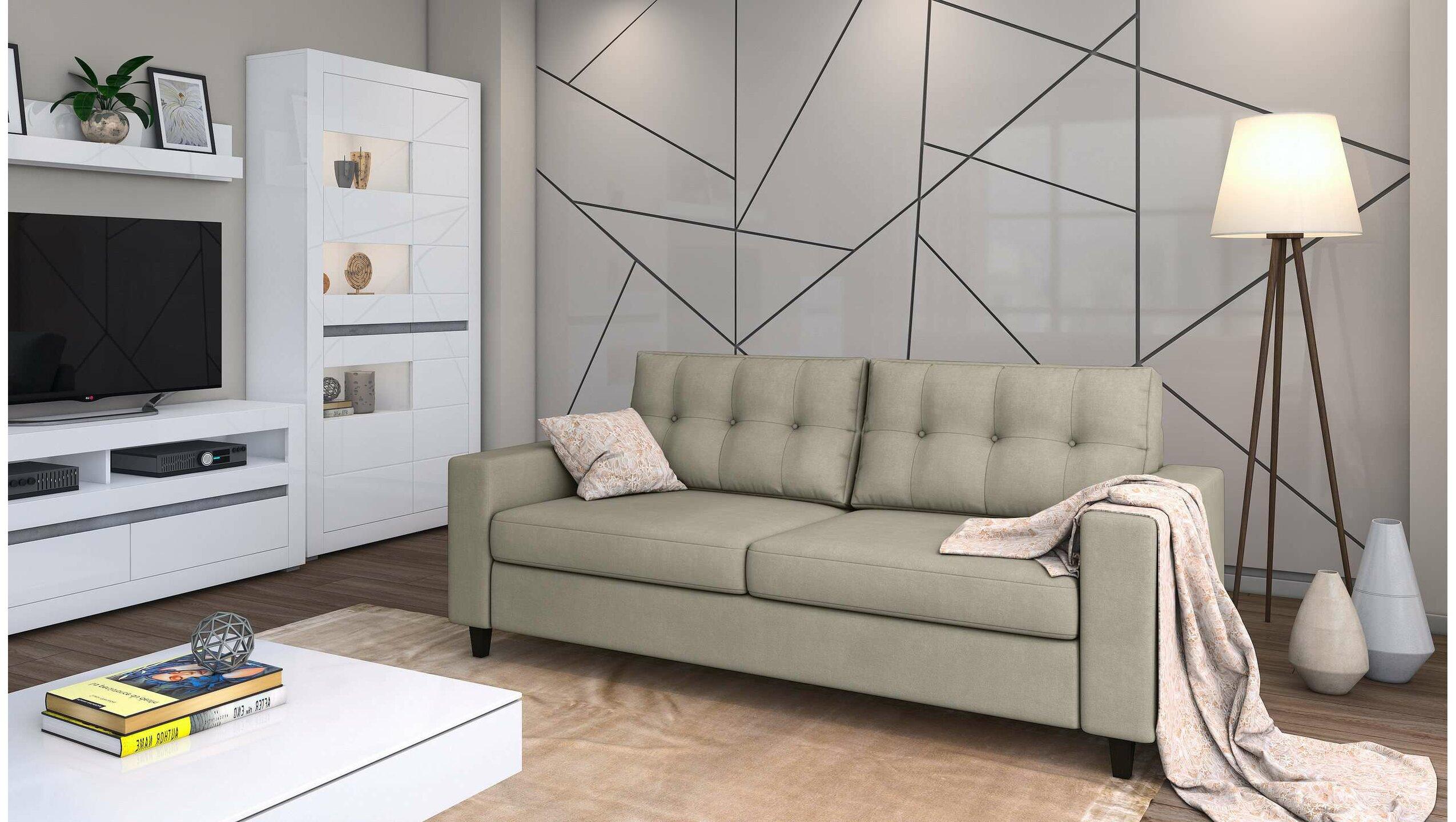 Stylefy Gerd Einzelsofa Grau Velours - Möbel online kaufen ...